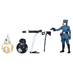 [Star Wars: The Last Jedi: Action Figure 2-Pack: Rose WithBB-8 & BB-9E (Product Image)]