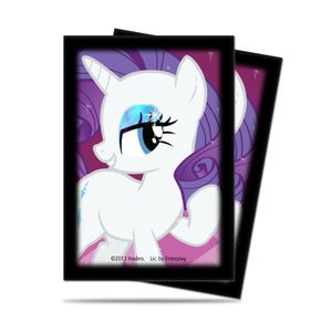 [My Little Pony: Small Deck Protectors: Rarity (Product Image)]