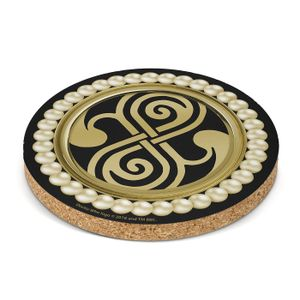 [Doctor Who: Coaster: High Council Of Time Lords Seal (Product Image)]