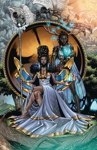 [The cover for Niobe: She Is Death #4 (Cover A Mitchell)]