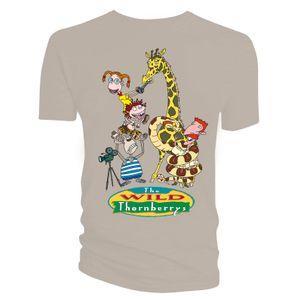 [The Wild Thornberrys: T-Shirt: Nigel & The Kids (Product Image)]