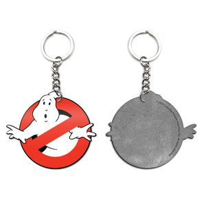 [Ghostbusters: Enamel Keychain: No Ghost Icon (Product Image)]