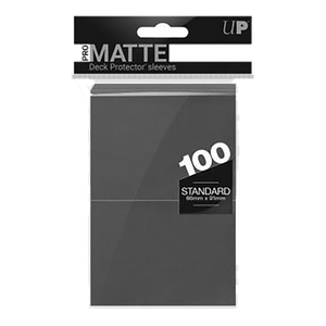 [Pro-Matte Standard Sleeves: Red (100) (Product Image)]