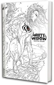 [White Widow: Sketch Book: Volume 1 (Product Image)]