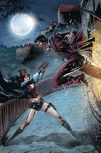 [Van Helsing Vs League Monsters #5 (Cover B White) (Product Image)]