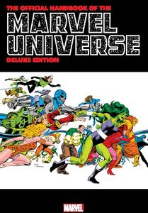 [The Official Handbook Of The Marvel Universe: Deluxe Edition Omnibus (Byrne Cover Hardcover) (Product Image)]