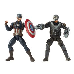 [Marvel: Cinematic Universe 10th Anniversary Action Figure: Captain America & Crossbones 2 Pack (Product Image)]