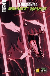 [Transformers: Beast Wars #5 (Cover A Josh Burcham) (Product Image)]