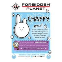 [Find Chaffy at Forbidden Planet  (Product Image)]