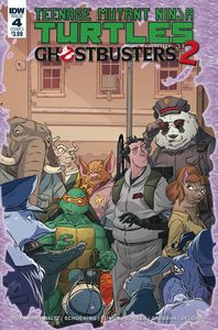 [Teenage Mutant Ninja Turtles/Ghostbusters II #4 (Cover A Schoening) (Product Image)]