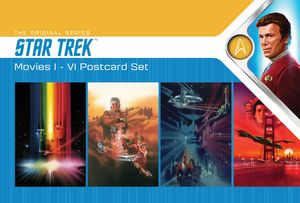 [Star Trek: Postcard Pack: Movies I-VI Posters (Product Image)]