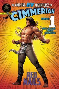 [Cimmerian Red Nails #1 (Cover E Casas Superman Parody Cover) (Product Image)]