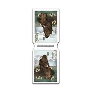 [Star Wars: Travel Pass Holder: Chewbacca With Porgs Japanese Style (Product Image)]