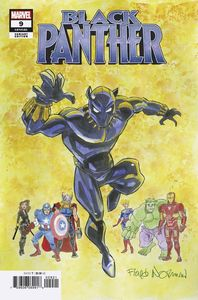 [Black Panther #9 (Norman Variant) (Product Image)]
