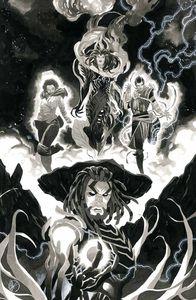 [Magic The Gathering #4 (Cover H Unlockable Scalera Black & White Variant) (Product Image)]
