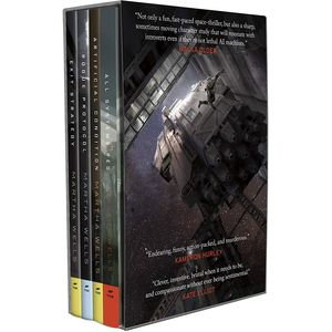 [The Murderbot Diaries Boxset (Hardcover) (Product Image)]