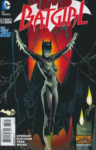 [Batgirl #35 (Monsters Variant Edition) (Product Image)]