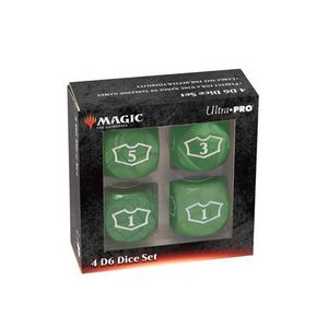 [Magic The Gathering: Deluxe Loyalty Dice: Green (Product Image)]