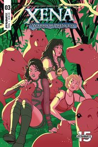 [Xena: Warrior Princess #3 (Cover C Ganucheau) (Product Image)]