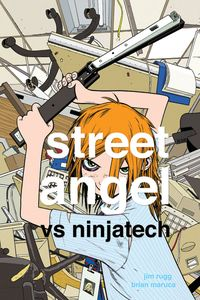 [Street Angel Vs Ninjatech (Hardcover) (Product Image)]