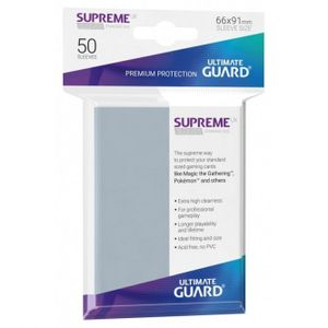 [Supreme UX Sleeves: Standard Size: Transparent (Product Image)]