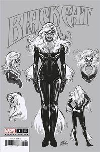 [Black Cat #1 (Larraz Sketch Variant KIB) (Product Image)]