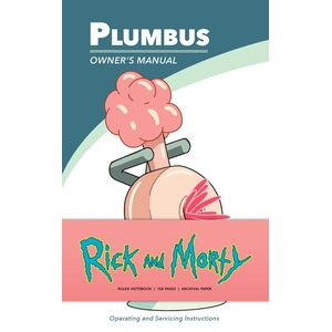 [Rick & Morty: Ruled Notebook: Plumbus (Product Image)]
