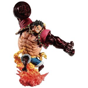 [One Piece: Gear 4 Kong Gun: Statue: Crimson Colour Variant Monkey D Luffy (Product Image)]