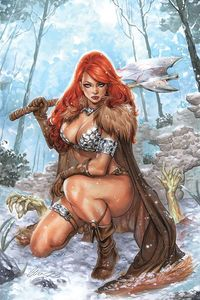 [Red Sonja: Age Of Chaos #3 (Chatzoudis Virgin Variant) (Product Image)]