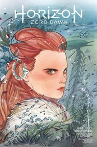 [Horizon Zero Dawn #1 (Peach Momoko SDCC Connecting Variant) (Product Image)]