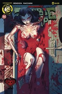 [The cover for Zombie Tramp Ongoing #46 (Cover A Celor)]