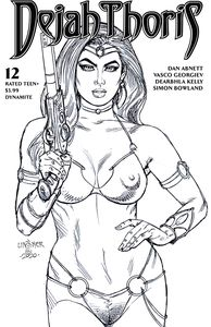 [Dejah Thoris: 2019 #12 (Linsner Black & White Variant) (Product Image)]