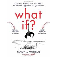 [Randall Munroe of XKCD Signs 'What If?' (Product Image)]