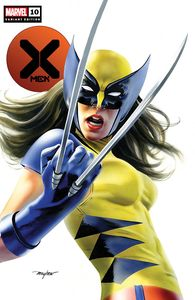 [X-Men #10 (Forbidden Planet Exclusive Mike Mayhew Variant) (Product Image)]