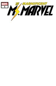 [Magnificent Ms Marvel #1 (Blank Variant) (Product Image)]