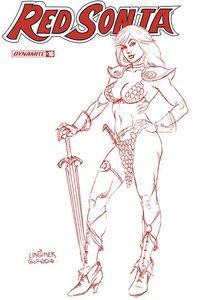 [Red Sonja #16 (Linsner Tint Dressed Bonus Variant) (Product Image)]