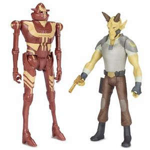 [Star Wars: Mission Series: Wave 5 Action Figures: Rebels: Cikatro And Ig Rm (Product Image)]