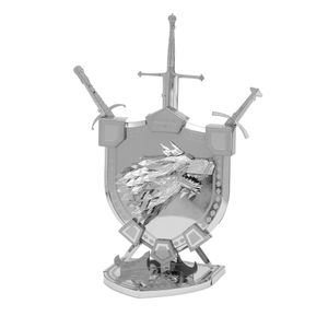 [Game Of Thrones: Metal Earth Model Kit: Stark Sigil (Product Image)]