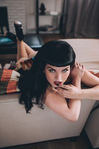 [Bettie Page #4 (Becerril Cosplay Virgin Variant) (Product Image)]