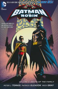 [Batman & Robin: Volume 3: Death Of The Family (Hardcover) (Product Image)]