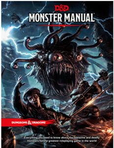 [Dungeons & Dragons: Monster Manual (Hardcover) (Product Image)]