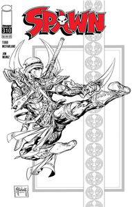 [Spawn #310 (Cover D Black & White Variant) (Product Image)]