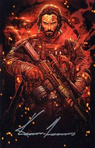 [BRZRKR (Berzerker) #1 (Cover O 1000 Copy Meyers Raw Variant Signed By Keanu Reeves) (Product Image)]