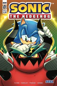 [Sonic The Hedgehog #43 (Cover A Rothlisberger) (Product Image)]