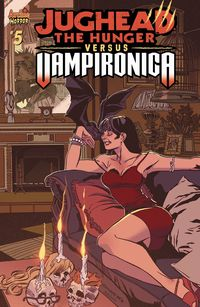 [The cover for Jughead Hunger Vs Vampironica #5 (Cover A Pat & Tim Kennedy (Mr)]