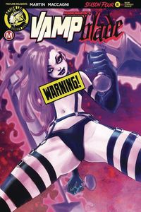 [Vampblade: Season 4 #8 (Cover D Chimisso Risque) (Product Image)]