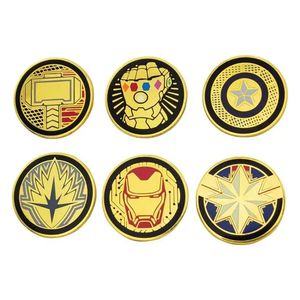[Avengers: Endgame: Enamel Pin Badges (Product Image)]