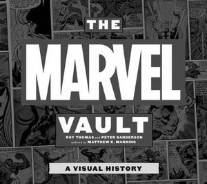 [The Marvel Vault (Hardcover) (Product Image)]