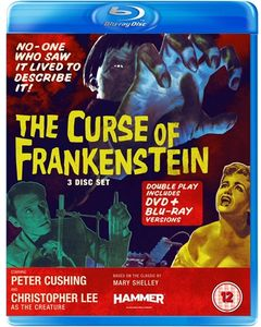 [Curse Of Frankenstein (Blu-Ray/DVD) (Product Image)]