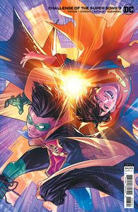 [Challenge Of The Super Sons #3 (Jamal Campbell Variant Cover) (Product Image)]